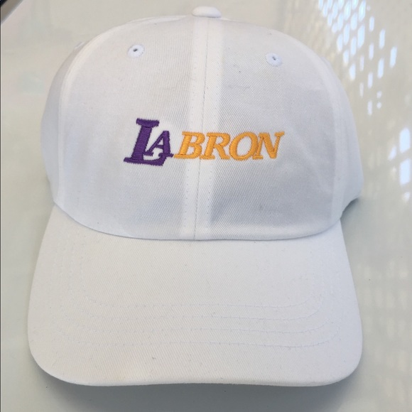 Lebron James LA Lakers LAbron embroidered Dad Hat 1712ac8954d6